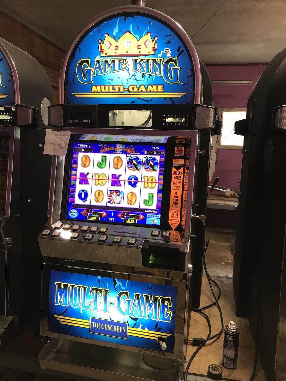 Game King: $2450.00